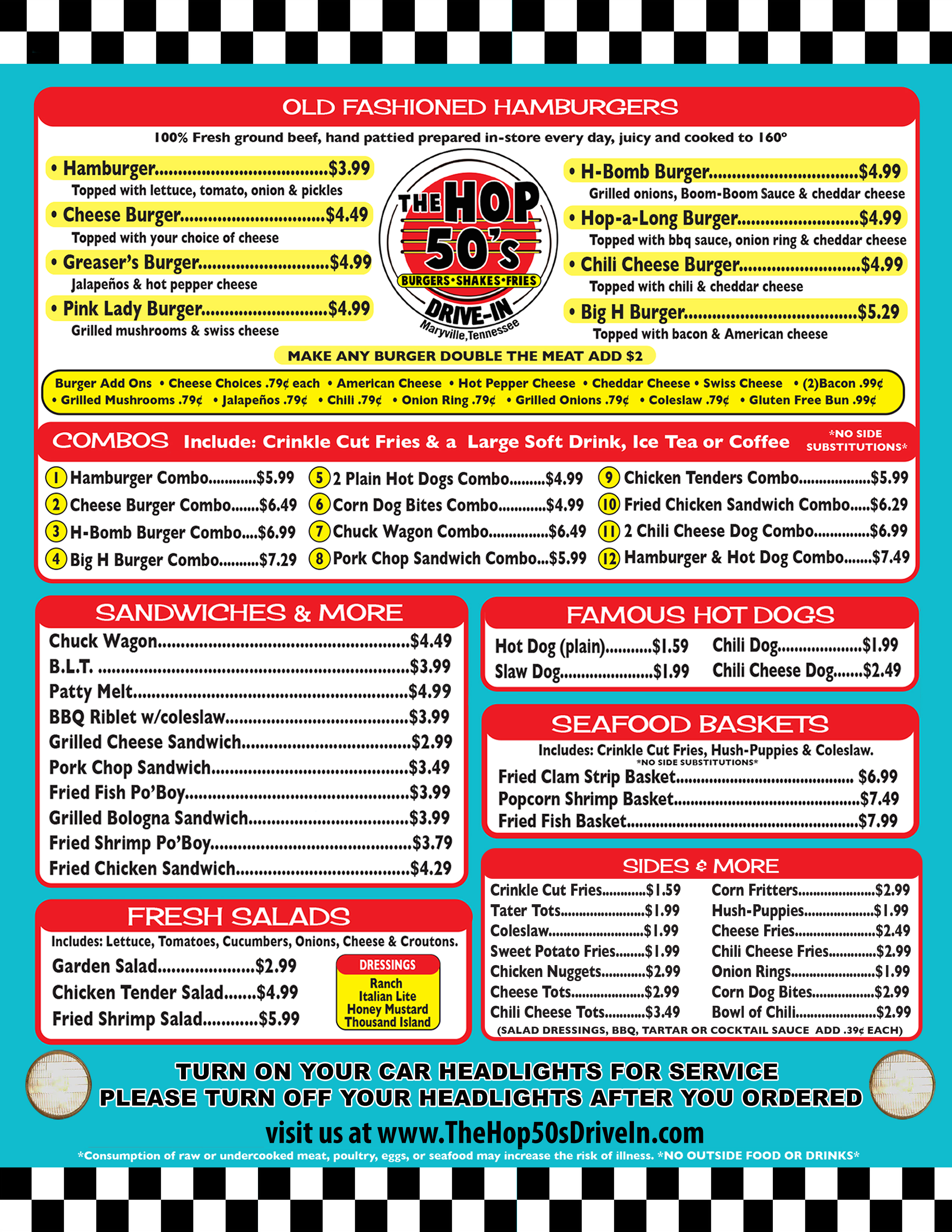 The Hop 50's Drive-in